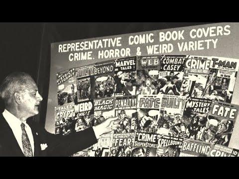 Confidential File (1955) - American Comic Book Censorship (MIRROR)