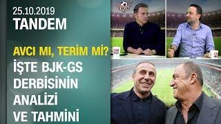 Cem Yılmaz ve Uğur Meleke'den Beşiktaş-Galatasaray derbisinin analizi ve tahmini - Tandem 25.10.2019