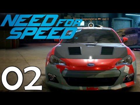 Gib mir NITROOOO! - Let's Play Need For Speed (2015) #02 [1080p/Deutsch/Facecam]