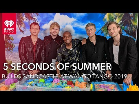 5 Seconds Of Summer Compete To Build The Best Sandcastle  2019 Wango Tango