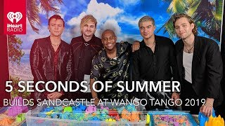 Gambar cover 5 Seconds Of Summer Compete To Build The Best Sandcastle! | 2019 Wango Tango