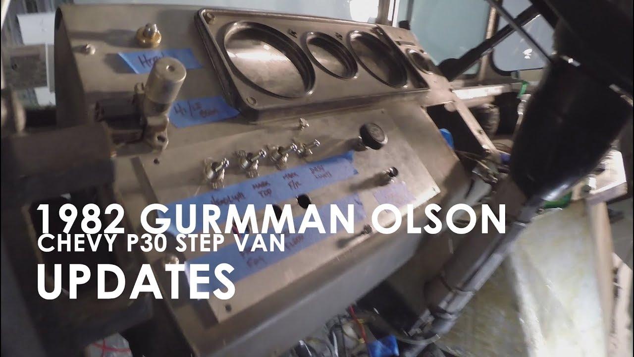 82 Grumman Olson Chevy P30 Step Van  Updates