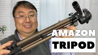 AmazonBasics 50-Inch Camera Tripod Review