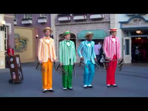 The Dapper Dans - Disneyland Medley