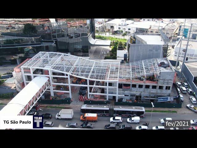 Evolução da Obra • Futura Estação João Dias, CPTM • Infraestrutura Metroferroviára TELAR Engenharia