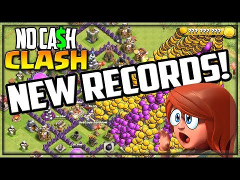 HUGE New Records! Clash of Clans No Cash Clash #32