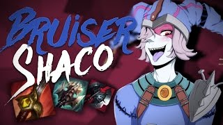Best Shaco Build!? Insane Duel Power - Bruiser/Duel Build! [BuildReview] (Mobafire In Description)