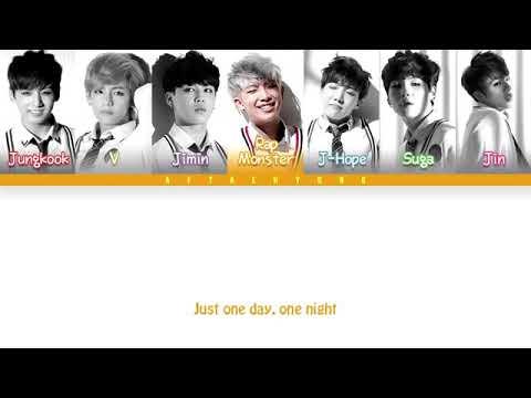 BTS JUST ONE DAY [LYRICS]