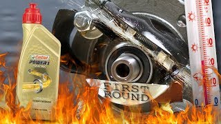 Castrol Power 1 Racing 2T Jak skutecznie olej chroni silnik? 100°C