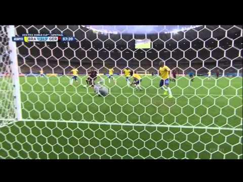 Germany Brazil 2014 World Cup Semifinal Full Game ESPN Deutschland Brasil