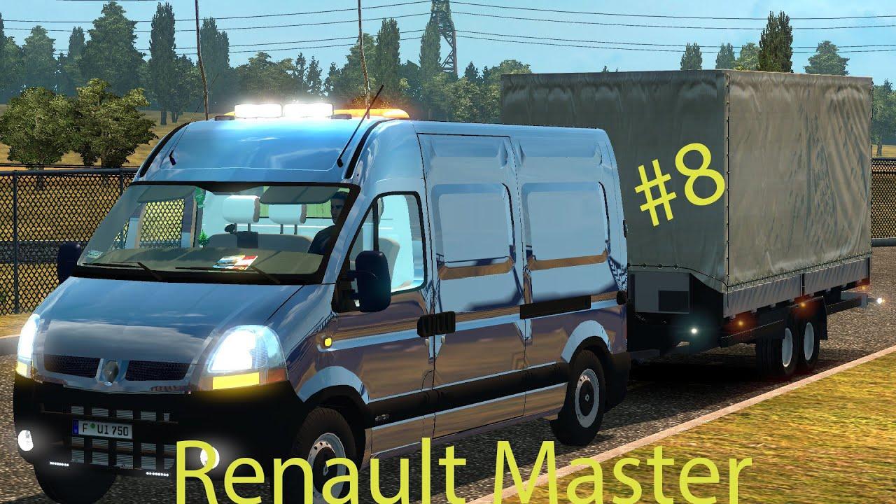 renault master ets2 euro truck simulator 2 youtube. Black Bedroom Furniture Sets. Home Design Ideas