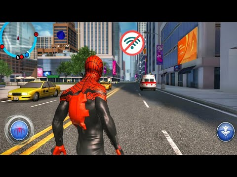 Top 10 OFFLINE SpiderMan Games For Android || High Graphics