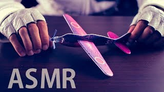 [ASMR] Assembling Flying Gliders (Crinkly Unwrapping) - NO TALKING