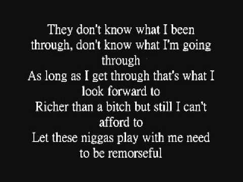 Rick Ross - Thug Cry (ft. Lil Wayne) Lyrics