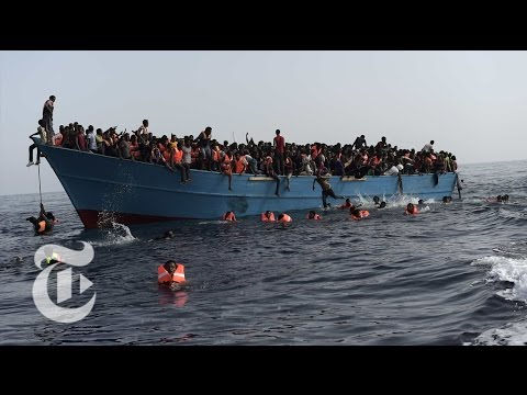 Thumbnail: Sent to Die in the Mediterranean | The New York Times