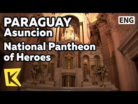 【K】Paraguay Travel-Asuncion[파라과이 여행-아순시온]전쟁 영웅 묘역/National Pantheon of the Heroes/Panteon Nacional