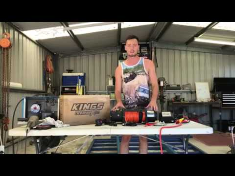 CUSTOMER REVIEW: Aussie 4WDers Trust the Domin8r X Winch! - YouTube