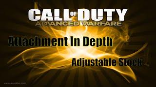 Call Of Duty Advanced Warfare : Attachment In Depth - Adjustable Stock