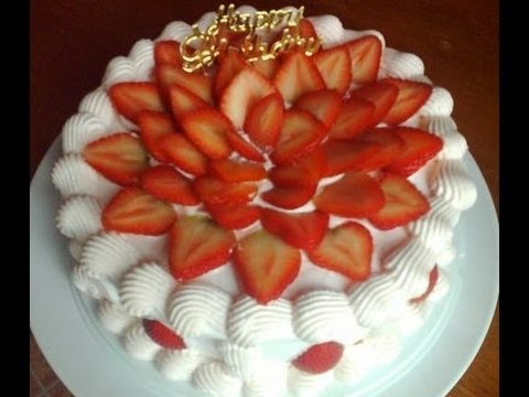 Fresh Strawberry Cake Recipe Local Special 02 Youtube