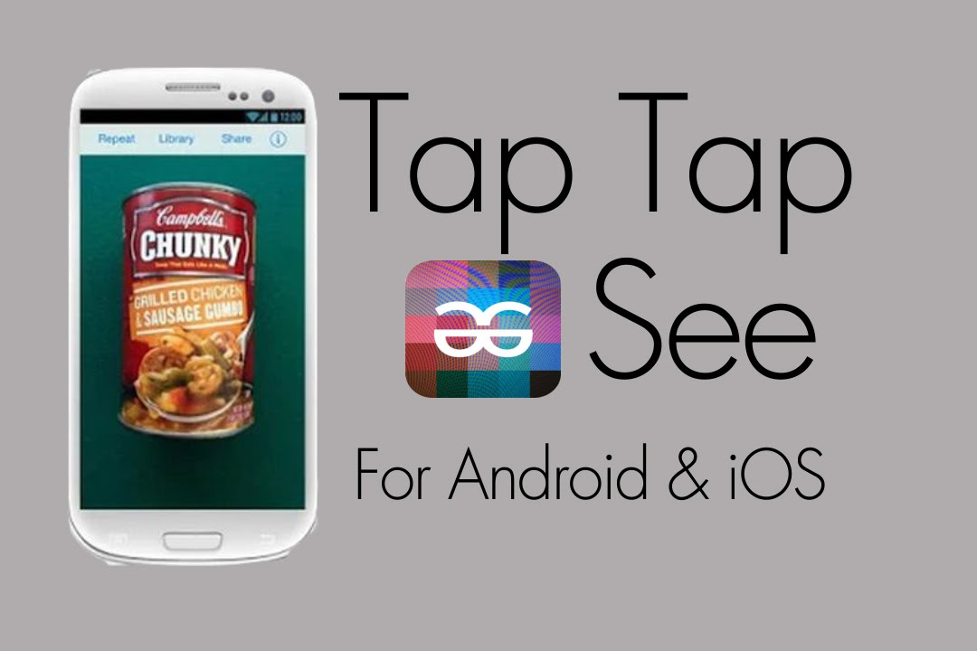 Tap Tap See ~ An App That Identifies Objects - YouTube