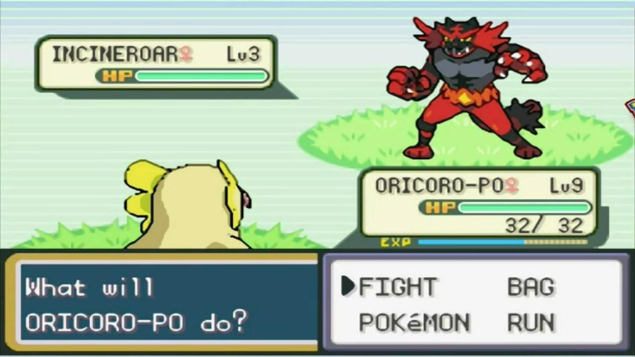 pokemon sol y luna gba español descargar rom