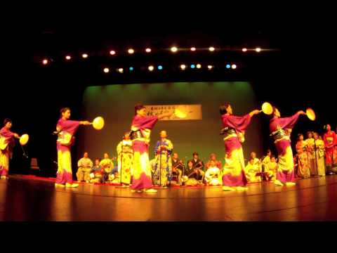 """Nanka Nihon Minyo Kyokai """"Matsutoyo Kai Performance"""""""