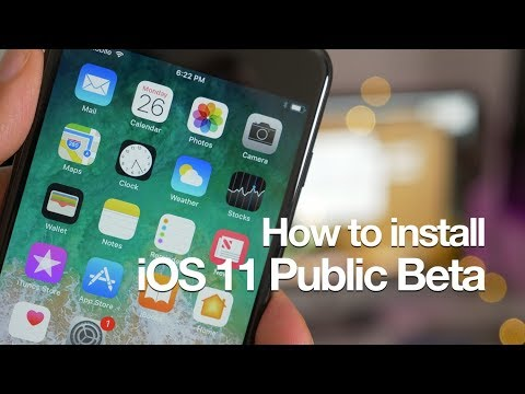 HOW TO DOWNLOAD IOS 11 PUBLIC BETA 1+iOS 11 DEVELOPER BETA 2 UPDATE 1
