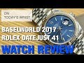 "Rolex Datejust 41 126334 Calibre 3235 Baselworld 2017 | DavidSW ""On Today's Wrist"""