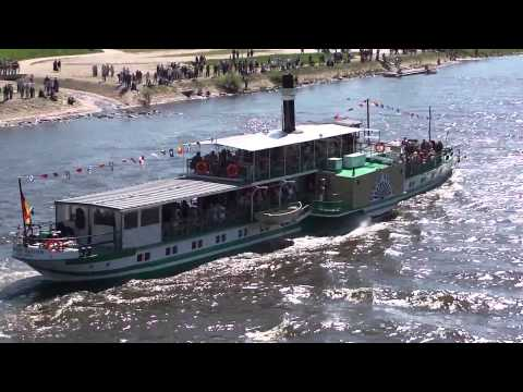 Oldest and biggest paddle steamer fleet of the World