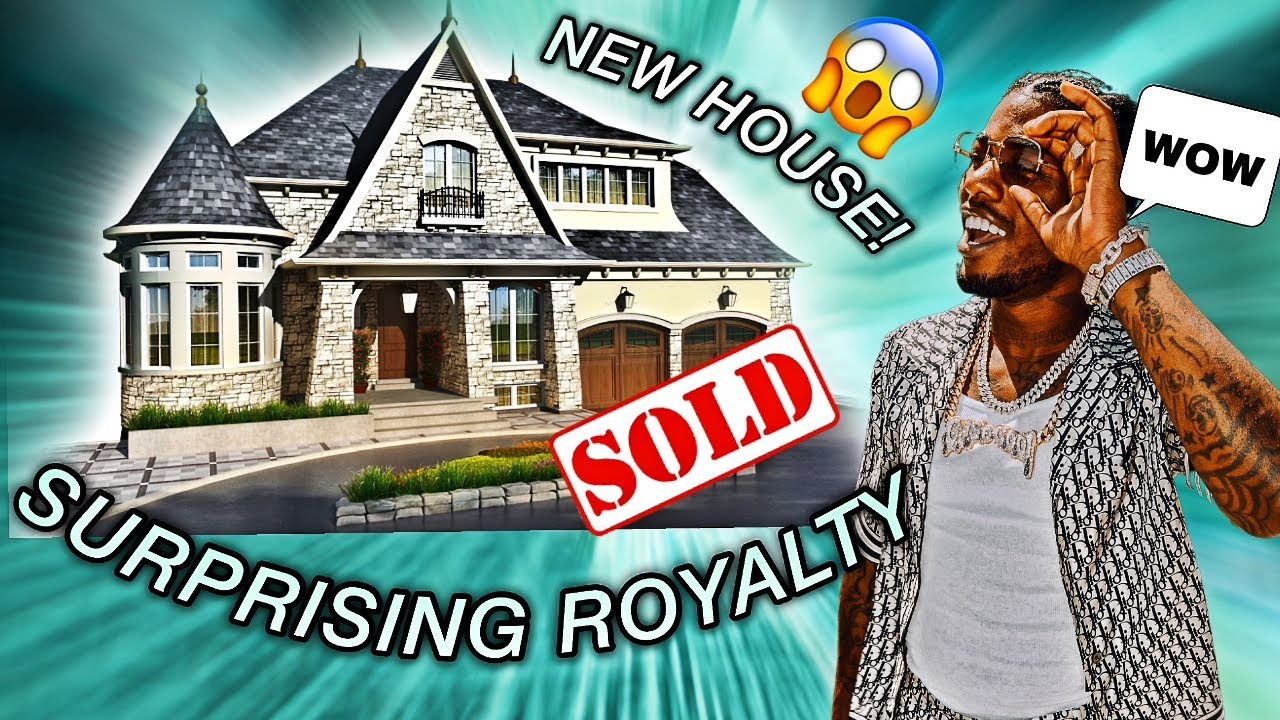 SURPRISING ROYALTY AND THE SO COOL KIDS WITH A NEW HOUSE!