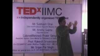 Target 3 Billion: Srijan Pal Singh at TEDxIIMC 2013