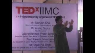 Target 3 Billion: Srijan Pal Singh at TEDxIIMC 2013