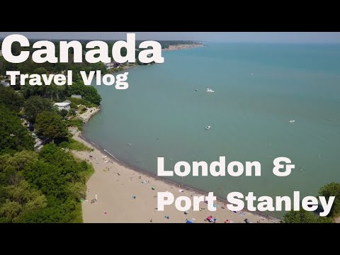 Canada Travel Vlog, Exploring London Ontario And Port Stanley