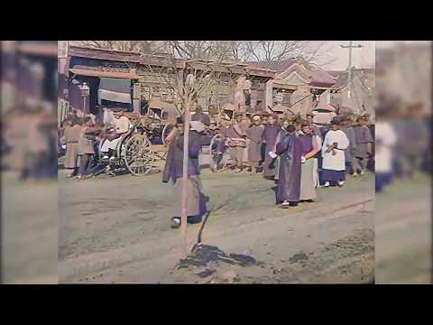 Artificial intelligence has restored images of the late qing dynasty in Beijing 100 years ago