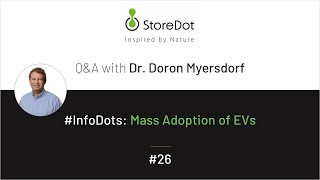 StoreDot #InfoDots: what are some of the issues currently preventing mainstream adoption of EVs?