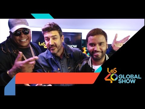 Zion y Lennox en Los 40 Global Show