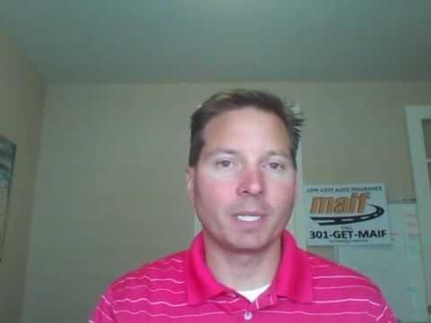 Maryland Auto Insurance Minute | MAIF Insurance 301-476-4887