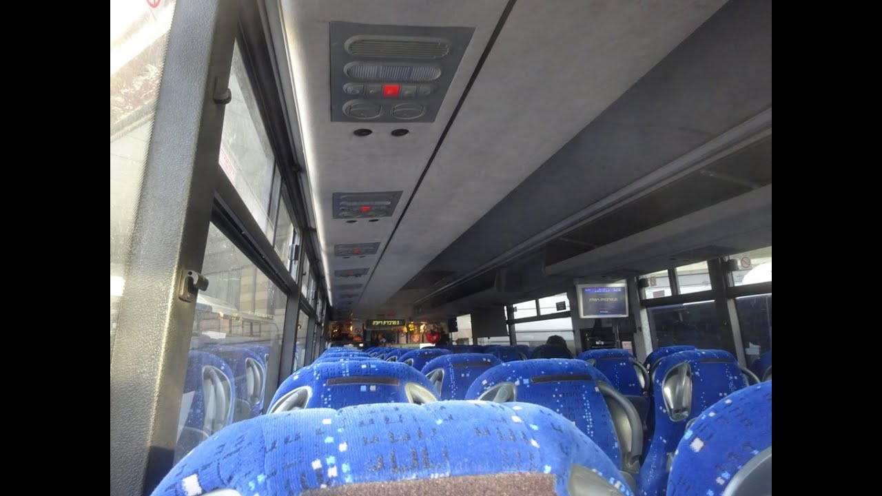 Volvo B7r Bus 73 372 52 Kavim Bus Company On Route 451