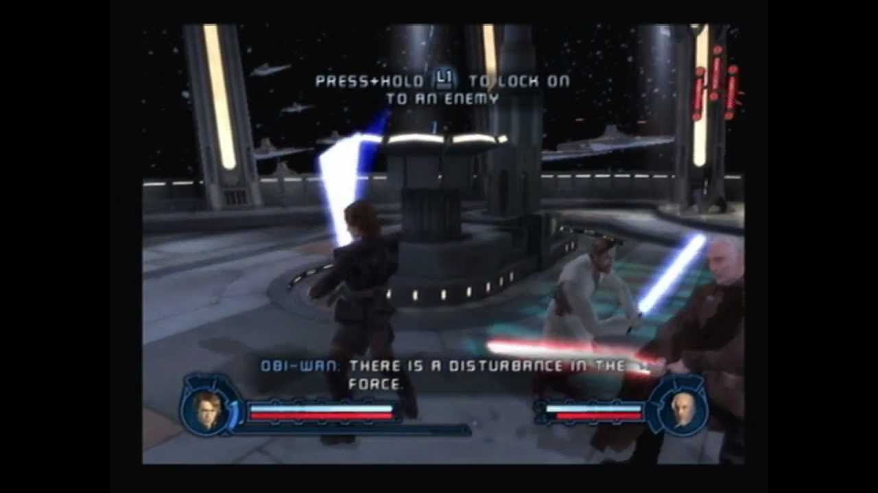 Star Wars Revenge Of The Sith Ps2 Walkthrough Settling The Score Count Dooku Boss Fight Youtube