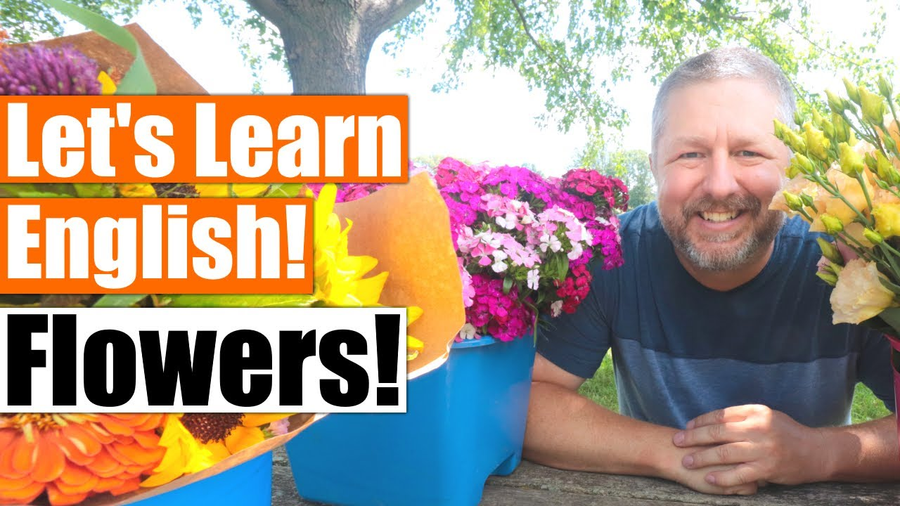Learn English as I Give a Tour of Our Flower Farm!