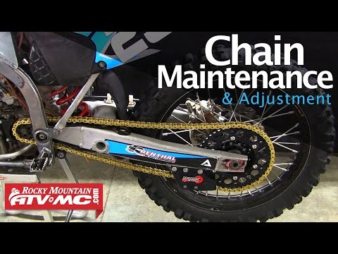 Dirt Bike Chain Maintenance & Adjustment