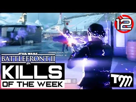 Star Wars Battlefront 2 - TOP 10 KILLS OF THE WEEK #12 (Best Plays Battlefront II)