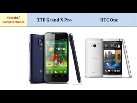 ZTE Grand X Pro versus HTC One, main differences, specs