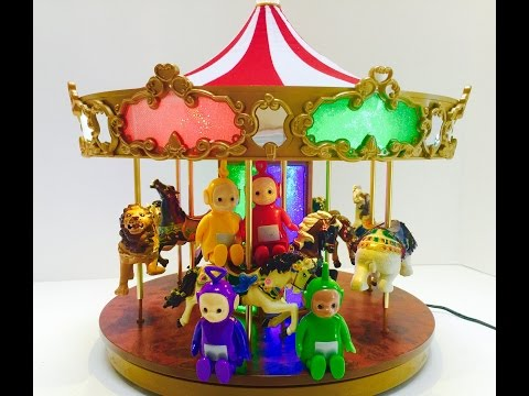 Teletubbies Ride The Musical Carousel Merry Go Round Toy