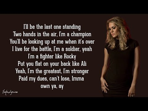 The Champion - Carrie Underwood ft. Ludacris (Lyrics) 🎵