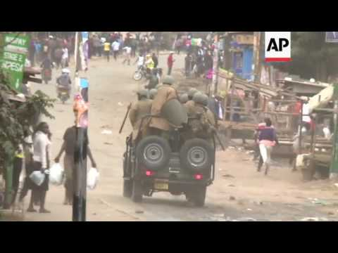 Kenya police fire bullets at protesters