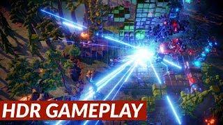 Nex Machina - HDR gameplay [PS4 Pro]