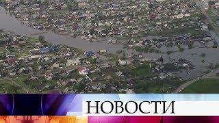 Из-за паводка три района Иркутской области буквально ушли под воду.