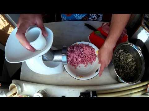 Домашние колбаски (купаты)
