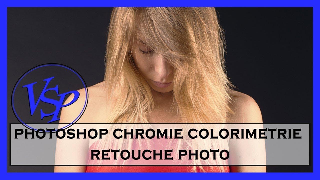 photoshop chromie colorimetrie retouche photo youtube. Black Bedroom Furniture Sets. Home Design Ideas
